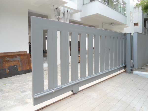 Covered Sliding Gates